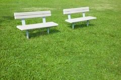 πάρκο εδρών Στοκ φωτογραφία με δικαίωμα ελεύθερης χρήσης