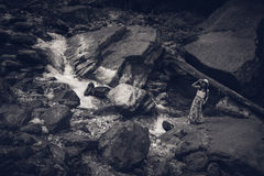 Πάρκο εθνικών δρυμός Zhangjiajie, Κίνα στοκ φωτογραφία με δικαίωμα ελεύθερης χρήσης