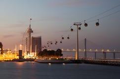 πάρκο εθνών της Λισσαβώνα&sigm στοκ εικόνες