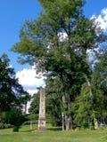 Πάρκο θερέτρου σε Marianske Lazne Στοκ Εικόνα