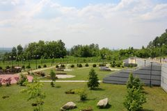 Πάρκο θερέτρου στοκ εικόνες με δικαίωμα ελεύθερης χρήσης