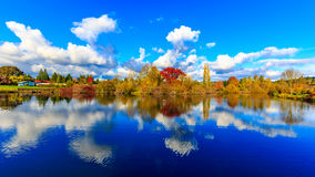 Πάρκο λιμνών Κοινοπολιτείας Στοκ εικόνα με δικαίωμα ελεύθερης χρήσης