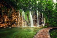 Πάρκο λιμνών Plitvice στην Κροατία Στοκ φωτογραφία με δικαίωμα ελεύθερης χρήσης