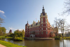 Πάρκο και Castle κακό Muskau Στοκ φωτογραφία με δικαίωμα ελεύθερης χρήσης
