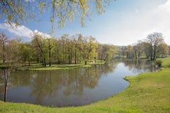 Πάρκο και Castle κακό Muskau Στοκ Εικόνες