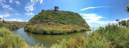 Πάρκο κομητειών παραλιών υποζυγίων Arroyo, Καλιφόρνια περιοχή Μόσχα μια πανοραμική όψη Στοκ Εικόνες