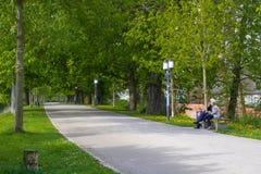 Πάρκο κοντά στην πόλη του greifswald Στοκ φωτογραφίες με δικαίωμα ελεύθερης χρήσης