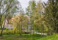 Πάρκο κοντά στην πόλη του greifswald Στοκ φωτογραφία με δικαίωμα ελεύθερης χρήσης