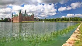 Πάρκο κοντά στο παλάτι του Frederiksborg Στοκ Εικόνα