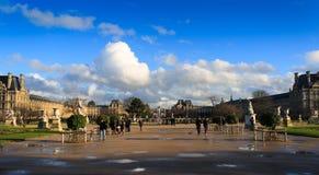 Πάρκο κοντά Arc de Triomphe du στο ιπποδρόμιο Στοκ φωτογραφίες με δικαίωμα ελεύθερης χρήσης