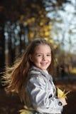πάρκο κοριτσιών ομορφιάς &phi Στοκ Εικόνες