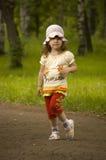 πάρκο κοριτσιών Στοκ Εικόνες