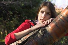 πάρκο κοριτσιών στοκ εικόνα