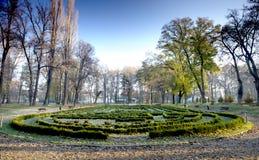 πάρκο λαβυρίνθου Στοκ Φωτογραφίες
