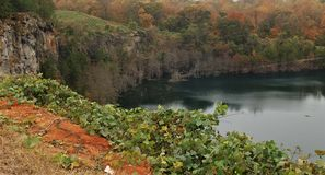 Πάρκο λατομείων του Γουίνστον-Σάλεμ στοκ εικόνες με δικαίωμα ελεύθερης χρήσης