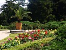 πάρκο λουλουδιών Στοκ φωτογραφίες με δικαίωμα ελεύθερης χρήσης