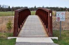 πάρκο μετάλλων γεφυρών Στοκ Εικόνες