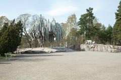Πάρκο & μνημείο Sibelius Στοκ Εικόνες