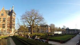 Πάρκο μουσείων του Άμστερνταμ Rijsk Στοκ Εικόνες