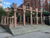 Πάρκο μπαταριών, Λόουερ Μανχάταν στοκ εικόνες με δικαίωμα ελεύθερης χρήσης