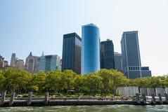 Πάρκο μπαταριών, Νέα Υόρκη Στοκ φωτογραφίες με δικαίωμα ελεύθερης χρήσης