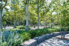 Πάρκο μπαταριών, Νέα Υόρκη Στοκ Εικόνα