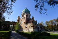 πάρκο νεκροταφείων mirogoj Στοκ Εικόνες