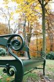 πάρκο πάγκων Στοκ Φωτογραφία
