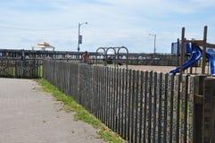 Πάρκο παραλιών Buckroe σε Hampton, Βιρτζίνια Στοκ φωτογραφία με δικαίωμα ελεύθερης χρήσης