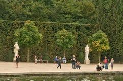 Πάρκο παλατιών των Βερσαλλιών Στοκ εικόνες με δικαίωμα ελεύθερης χρήσης