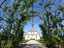 Πάρκο παλατιών Rundale, Λετονία στοκ εικόνες