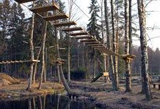 πάρκο περιπέτειας Στοκ εικόνες με δικαίωμα ελεύθερης χρήσης
