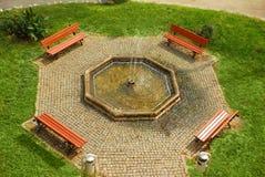 πάρκο πηγών πόλεων στοκ εικόνες με δικαίωμα ελεύθερης χρήσης