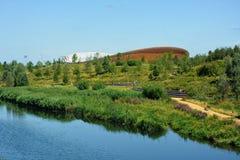 Πάρκο ποδηλατοδρομίων κοιλάδων του Lee Stratford, Λονδίνο στοκ εικόνα