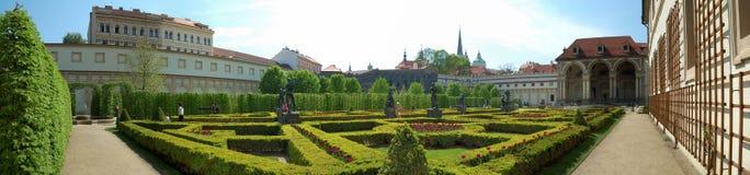 πάρκο Πράγα Στοκ φωτογραφία με δικαίωμα ελεύθερης χρήσης