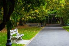 Πάρκο προοπτικής στοκ φωτογραφία με δικαίωμα ελεύθερης χρήσης