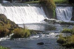 Πάρκο πτώσεων Tumwater, Η, σπίτι της επιχείρησης παρασκευής μπύρας της Ολυμπία Στοκ Φωτογραφία