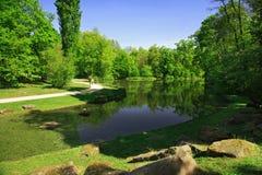 πάρκο πόλεων Στοκ εικόνα με δικαίωμα ελεύθερης χρήσης