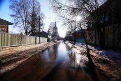 Πάρκο πόλεων στην άνοιξη Στοκ Φωτογραφία