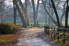 Πάρκο πόλεων στο Μιλάνο Στοκ φωτογραφίες με δικαίωμα ελεύθερης χρήσης