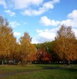 Πάρκο πόλεων το φθινόπωρο Στοκ φωτογραφίες με δικαίωμα ελεύθερης χρήσης