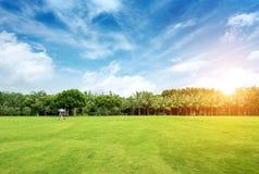 Πάρκο πόλεων Στοκ φωτογραφία με δικαίωμα ελεύθερης χρήσης