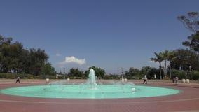 Πάρκο Σαν Ντιέγκο BALBOA απόθεμα βίντεο