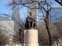 Πάρκο Σικάγο επιχορήγησης μνημείων του Abraham Lincoln στοκ φωτογραφία