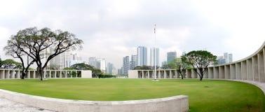 Πάρκο στην πρωτεύουσα της Μανίλα των Φιλιππινών στοκ εικόνα
