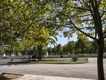 Πάρκο στην πόλη της Κέρκυρας στο ελληνικό νησί της Κέρκυρας Στοκ φωτογραφίες με δικαίωμα ελεύθερης χρήσης