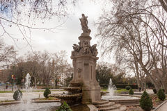 Πάρκο στη Μαδρίτη Στοκ Εικόνες