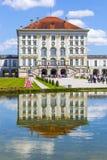 Πάρκο στο κάστρο nymphenburg, Μόναχο Στοκ φωτογραφία με δικαίωμα ελεύθερης χρήσης