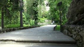 Πάρκο στο μοναστήρι Aladza Βάρνα bulblet 4K φιλμ μικρού μήκους