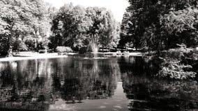 Πάρκο στο Όσλο Στοκ εικόνα με δικαίωμα ελεύθερης χρήσης